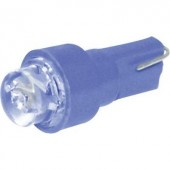 Eufab LED-es műszerfallámpa, 12V, T5, kék, 5 db