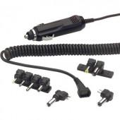 Szivargyújtó adapter, autós hosszabbító készlet töltő dugókkal 12V/DC 1500mA Voltcraft 710226