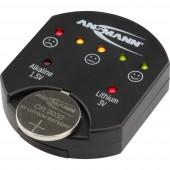 Ansmann Elemteszter Button cell 1900-0035
