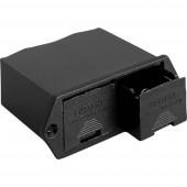 Bulgin BX0026 Elemtartó 2x 9 V-os Forrasztható csatlakozó (H x Sz x Ma) 57 x 85.6 x 29 mm