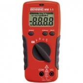 Benning MM 1-1 Kézi multiméter Digitális Kalibrált: ISO CAT II 1000 V, CAT III 600 V Kijelző (digitek): 2000