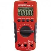 Benning MM 1-3 Kézi multiméter Digitális Kalibrált: ISO CAT II 1000 V, CAT III 600 V Kijelző (digitek): 2000