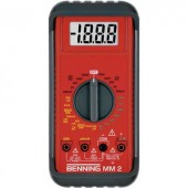 Benning MM 2 Kézi multiméter Digitális Kalibrált: ISO CAT II 1000 V, CAT III 600 V Kijelző (digitek): 2000