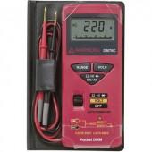 Digitális feszültségmérő multiméter, zseb multiméter automata méréshatárváltással 600V/1000V Beha Amprobe DM78C