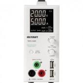 Digitális labortápegység, 2 USB kimenettel 1 - 20 V/DC 0.25 - 5 A 100 W VOLTCRAFT TOPS-3205