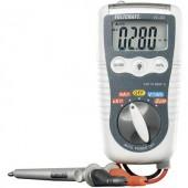 Digitális multiméter, beépített LED-es zseblámpa 600V AC/DC max.200mA AC/DC VOLTCRAFT VC-20 HEAVY-DUTY DMM ISO kalibrált