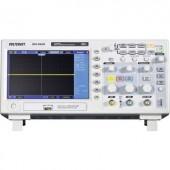 Digitális oszcilloszkóp VOLTCRAFT DSO-1102D 100 MHz 2 csatornás 512 kpts 8 bit Kalibrált ISO Digitális memória (DSO)