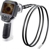 Endoszkóp kamera LCD kijelző, SD kártya és video felvevő funkcióval cserélhető szonda Ø 9 mm/1.5 m Laserliner 082.211A