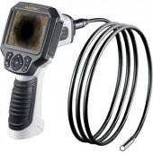 Endoszkóp kamera LCD kijelzővel, SD kártya és video felvevő funkcióval szonda Ø 9 mm, hossza: 2 m Laserliner 082.254A
