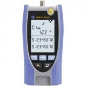 Kábelteszter és vezetékhossz mérő, kábelhossz mérő műszer RJ11/12/45/F-csatlakozókhoz IDEAL Networks VDV II PLUS R158002