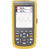 Kézi oszcilloszkóp (scope-meter) Fluke 123B/EU 20 MHz 2 csatornás 4 null Multiméter funkciók