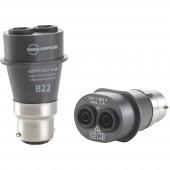 Adapter Beha Amprobe ADPTR-B22-EUR ADPTR-B22-EUR lámpateszt-adapter, 4854858