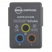 Adapter Beha Amprobe ADPTR-SCT-EUR ADPTR-SCT-EUR csatlakozóaljzat-adapter, 4854899