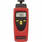 Beha Amprobe 3311961-D Fordulatszámmérő Kalibrált (DAkkS) mechanikus, optikai 1 - 19999 fordulat/perc 1 - 99999 fordulat/perc