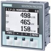 Digitális beépíthető mérőműszer Siemens SENTRON PAC3100 Többfunkciós mérőműszer SENTRON PAC3100 Legfeljebb 3 x 480/277 V/AC Beépítési méret 92 mm x 92 mm