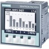 Digitális beépíthető mérőműszer Siemens SENTRON PAC4200 Többfunkciós mérőműszer SENTRON PAC4200 Max. 3 x 690/400 V/AC Beépítési méret 92 mm x 92 mm