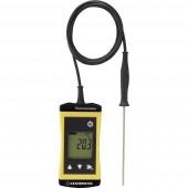 Greisinger G1710 Hőmérséklet mérőműszer Kalibrált (ISO) -70 - +250 °C Érzékelő típus Pt1000