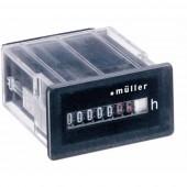 Müller BG3018 12-48V DC Betriebsstundenzähler
