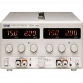 Aim TTi EX752M Labortápegység, szabályozható 0 - 150 V/DC 0 - 2 A 300 W Kimenetek száma 2 x