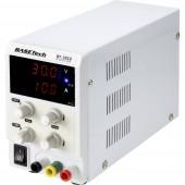 Basetech BT-3010 Labortápegység, szabályozható 0 - 30 V/DC 0 - 10 A 300 W Dugaszcsatlakozó, 4 mm Vékony kivitel Kimenetek száma 1 x