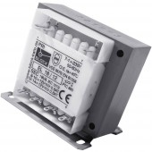 Block EL 13/15 Vezérlő transzformátor, Leválasztó transzformátor, Biztonsági transzformátor 1 x 230 V/AC 2 x 15 V/AC 13 VA 433 mA