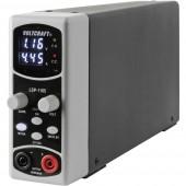 VOLTCRAFT LSP-1165 Labortápegység, szabályozható Kalibrált (ISO) 0.1 - 36 V/DC 0.01 - 5 A 80 W Vékony kivitel Kimenetek száma 1 x
