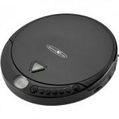 Discman, hordozható CD, MP3 lejátszó, CD, CD-R, CD-RW, MP3, FM rádióval fekete színű Reflexion PCD510MF