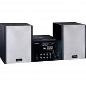 Lenco MC-250BK Sztereo berendezés Bluetooth®, CD, DAB+, Internetrádió, USB, URH, 2 x 10 W Fekete