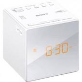 Órás rádió, rádiós ébresztőóra LED kijelzővel, fehér színű Sony ICF-C1W.CED