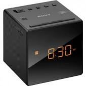 Órás rádió, rádiós ébresztőóra LED kijelzővel, fekete színű Sony ICF-C1