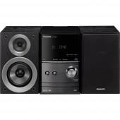 Panasonic SC-PM602EG-K Sztereo berendezés Bluetooth®, DAB+, CD, URH, USB, 2 x 20 W Fekete