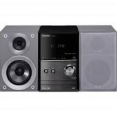 Panasonic SC-PM602EG-S Sztereo berendezés Bluetooth®, DAB+, CD, URH, USB, 2 x 20 W Ezüst