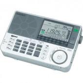 Sangean ATS-909 X világveő hordozható rádió KW, MW, LW, UKW ezüst, fehér színben