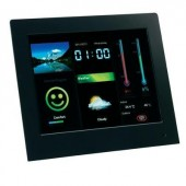 Digitális képkeret időjárásjelző állomással 20,3 cm, Intenso Weatherstar