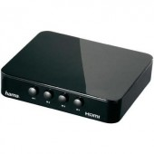 4 portos HDMI switch 1920 x 1080 Pixel Hama G410 fekete
