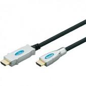 Aktív HDMI Csatlakozókábel [1x HDMI dugó - 1x HDMI dugó] 30 m Fekete, Goobay