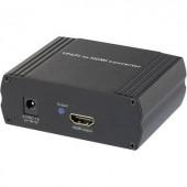 AV konverter jelátalakító RCA komponent YPbPr-ről HDMI kimenetre SpeaKa Professional SP-COHD-01