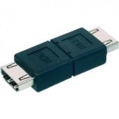HDMI közösítő adapter, 1x HDMI aljzat - 1x HDMI aljzat, fekete, Digitus