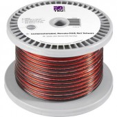 Hangszóró kábel 2 x 1.35 mm² Piros, Fekete TRU COMPONENTS 1565455 100 m