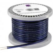 Hangszóró kábel 2 x 1.65 mm² Kék, Fekete TRU COMPONENTS 1564943 30 m