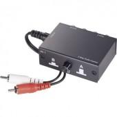 RCA audio átkapcsoló (2 RCA bemenet - 1 RCA kimenet) SpeaKa Professional 1435386