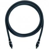 Digitális optikai audio kábel, 1x Toslink dugó - 1x Toslink dugó, 1 m, fekete, Oehlbach