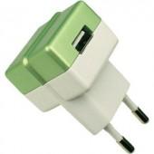 Hálózati USB töltő adapter 100-240V/AC 1000mA HN Power HNP05-ECO-GREEN-C