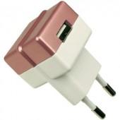 Hálózati USB töltő adapter 100-240V/AC 1000mA HN Power HNP05-ECO-RED-C