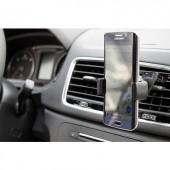 Autós telefontartó, szellőzőrácsba illeszthető, 360 °-ban forgatható 50 - 90 mm Goobay 40732