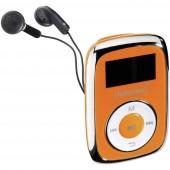 Intenso Music Mover MP3 lejátszó 8 GB Narancs Rögzítő csíptető