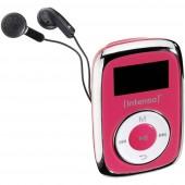 Intenso Music Mover MP3 lejátszó 8 GB Rózsaszín Rögzítő csíptető