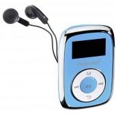Intenso Music Movers MP3 lejátszó 8 GB Kék Rögzítő csíptető
