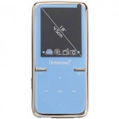 Mp3/Mp4 lejátszó, 8GB Micro SD kártyával, kék színű Intenso Video Scooter