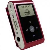 Mp3 lejátszó, belső memória nélkül, Micro SD kártyás, piros színű mpman MP30WOM